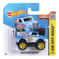 Mattel Hot Wheels Spielzeug Auto CFK65 Monster Dairy Delivery