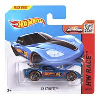 Mattel Hot Wheels Spielzeug Auto CFK77 C6 Corvette