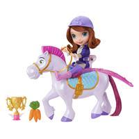 Mattel Disney Princess - Fliegende Prinzessin Sofia und Minimus Puppe CKH35