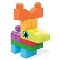 Mega Bloks Thementasche Lustige Tiere Detailansicht 01