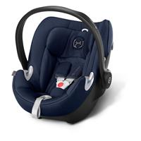 Babyschale Cybex Aton Q Midnight Blue | XXL Cabrio Sonnendach UVP 50+