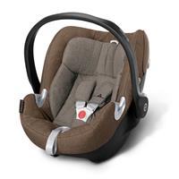 Babyschale Cybex Aton Q Cashmere Beige | XXL Cabrio Sonnendach UVP 50+
