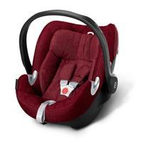 Babyschale Cybex Aton Q Infra Red | XXL Cabrio Sonnendach UVP 50+