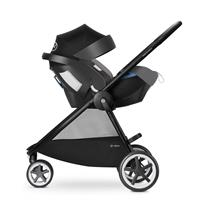 Cybex Agis M Air3 Kinderwagen 2017 Manhattan Grey Travel System mit Cybex Babyschale Aton5