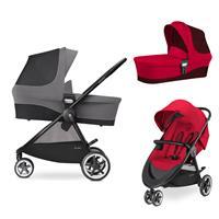 Cybex Agis M-Air 3 Kinderwagen incl. Babywanne 2017 Infra Red