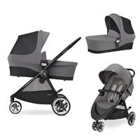 Cybex Agis M-Air 3 Kinderwagen incl. Babywanne 2017 Manhattan Grey