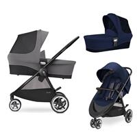 Cybex Agis M-Air 3 Kinderwagen incl. Babywanne 2017 Midnight Blue