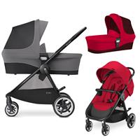 Cybex Agis M-Air 4 Kinderwagen incl. Babywanne 2017 Infra Red