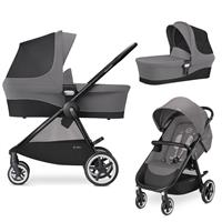 Cybex Agis M-Air 4 Kinderwagen incl. Babywanne 2017 Manhattan Grey