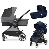 Cybex Agis M-Air 4 Kinderwagen incl. Babywanne 2017 Midnight Blue