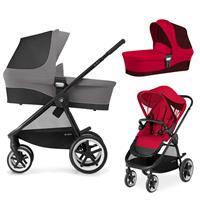 Cybex Balios M Kinderwagen inkl. Babywanne Infra Red