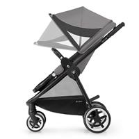 Cybex Iris M Air Kinderwagen 2017 manhattan grey Grosses Sonnenverdeck