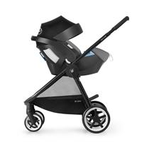 Cybex Iris M Air Kinderwagen 2017 manhattan grey Travel System mit Aton5