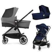 Cybex Iris M Kinderwagen incl. Babywanne 2017 Midnight Blue