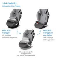 Pallas M-Fix   Altersuebergreifender Kinderautositz Gruppe 1 2 3