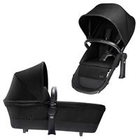 Cybex Priam Tragewanne & Sportsitz - 2in1 Sitz Happy Black | KidsComfort.eu