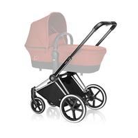 Cybex PRIAM Chrome Kinderwagen Gestell 2017 TREKKING Raeder Verwendung mit Carrycot moeglich