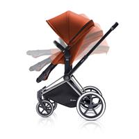 Cybex Priam Kombikinderwagen mit 2in1 Sitz | Autumn Gold