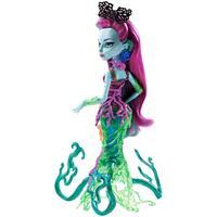 Mattel Monster High DGS Schreckensriff Schülerin Posea Reef Detailansicht 01