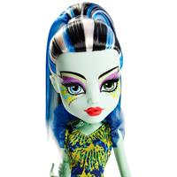 Mattel Monster High DGS Leuchtende Monsterfisc Frankie Detailansicht 01