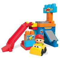 Mega Bloks Spinning Garage With Gas Station