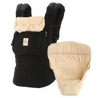 Ergobaby von-Geburt-an-Paket Original Black/Camel