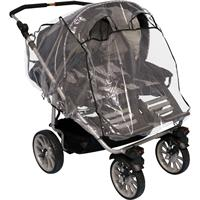 Fillikid Rain Shelter for Twin Buggy Stroller
