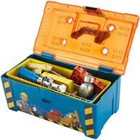 Fisher-Price DGY48 Bob der Baumeister - Bobs 2-in-1 Werkzeugkasten
