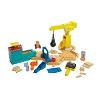 Fisher Price DMM55 Bob the Builder Large Construction Site Gaming Set with Toy Sand