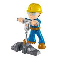 Fisher-Price Sort. DHB05 Bob der Baumeister Kleine Figuren Presslufthammer Bob
