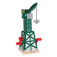 Fisher Price Thomas Eisenbahn Holz Cranky Kran Y4368 02