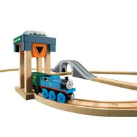 Fisher Price Thomas Eisenbahn Holz Kohlenstation Bahnset BBBD10 03