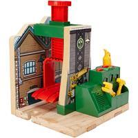 Fisher Price Thomas Eisenbahn Holz Lokwerkstatt CDK46 02