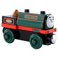Fisher Price Thomas die Lokomotive Holz CDJ02 Samson 03