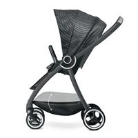 gb MARIS PLUS | Kinderwagen Lux Black | Grosser Einkaufskorb