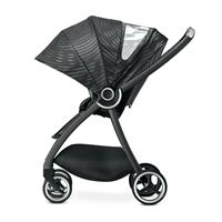 gb MARIS PLUS | Kinderwagen Lux Black | XXL Sonnendach