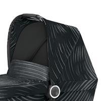 gb MARIS PLUS | Kinderwagenaufsatz Babywanne | Lux Black | Sonnendach
