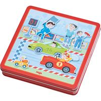 Haba Magnet-Game-Box Fast Cars