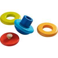 Haba 301982 Steckspiel Regenbogenball 02 Detailansicht 01