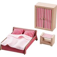 Haba Little Friends - Doll's House Furniture Parents Sleeping-Room