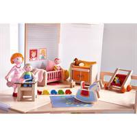 Haba 301989 Puppenhaus Moebel Kinderzimmer 02 Detailansicht 01