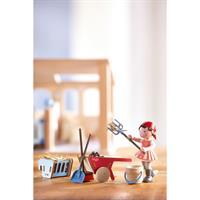 Haba 302093 Little Friends Spielset Pferdestall 02 Detailansicht 01