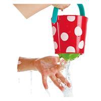 Hape E0205 Little Splashers Teddy and Duck Bath Mitt Set 4