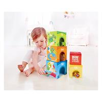 Hape E0451 Pepe Freunde Stapelturm with child 4