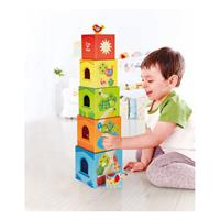 Hape E0451 Pepe Freunde Stapelturm with child