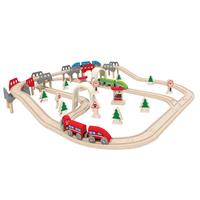 Hape E3701 High und Low Railway Set 0