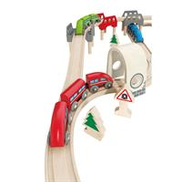 Hape E3701 High und Low Railway Set 2