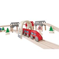 Hape E3701 High und Low Railway Set 3