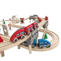 Hape E3701 High und Low Railway Set 4