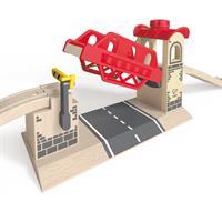 Hape Holz Zugbrücke